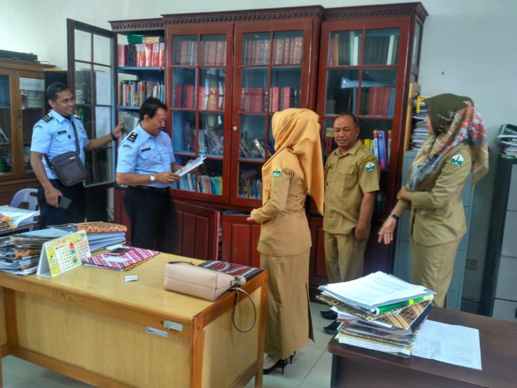 Kunjungan Kanwil Kemenkumham Aceh