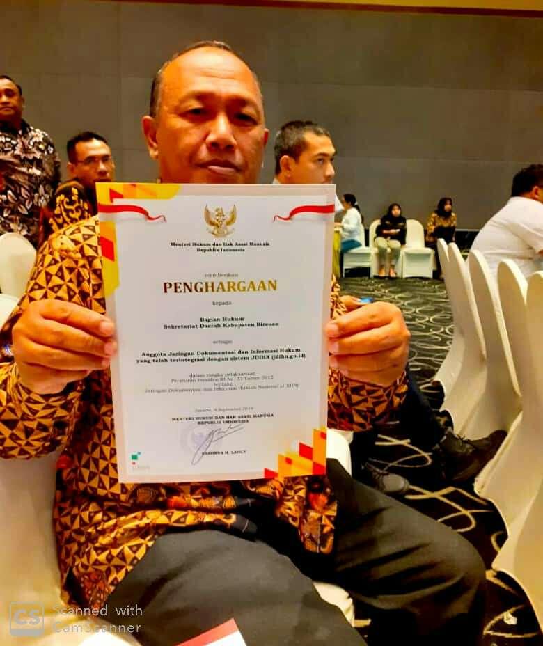 Rapat Koordinasi Jaringan Dokumentasi dan Informasi Hukum Nasional di Jakarta, 1O-11 September 2O19